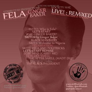 Fela Kuti/Ginger Baker Live!Remixed By Teck-Zilla
