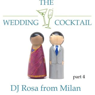 DJ Rosa from Milan - The Wedding Cocktail - part 4