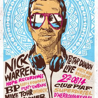 Nick Warren - Live At Edge Summer Edition, Super Diesel (Antwerp, Belgium) - 22-Jun-2014