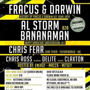 Claxton & Mitsey Live @ Hardcore Underground 21-11-14