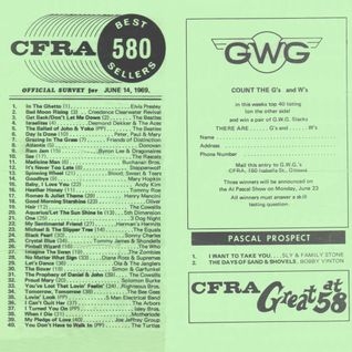 Ottawa Top 40 Chart: June 14th, 1969