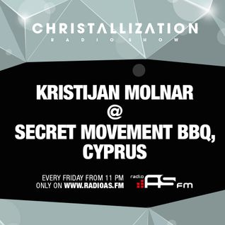 Kristijan Molnar @ Secret Movement BBQ - Cyprus, 15-09-2013