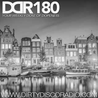 Dirty Disco Radio 180 – Curated, Mixed & Hosted by Kono Vidovic