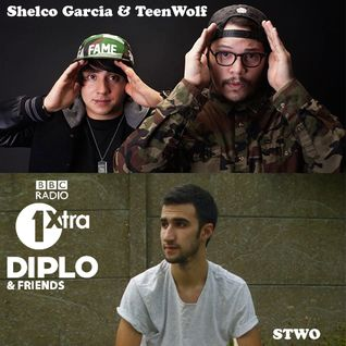 Diplo & Friends on BBC Radio 1 ft Shelco Garcia and Teenwolf, plus STWO 6/8/14