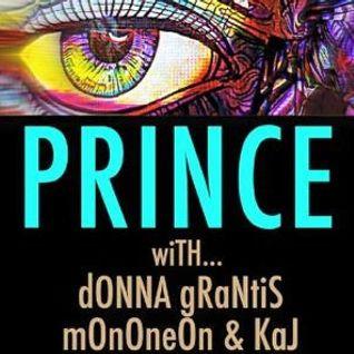 Paisley Park rehearsals with MonoNeon (bass), Donna Grantis (guitar), KAJ (drums) - PRINCE's HitNRun
