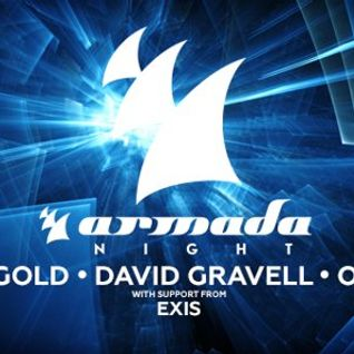 Ben Gold - Live @ Armada Night (Melbourne) - 31.07.2015