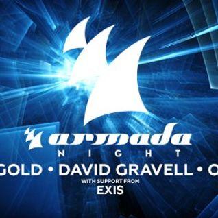 Ben Gold - Live @ Armada Night (Melbourne) - 31.07.2015