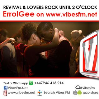 Vibes FM Monday Night Rock You to Sleep  Show Live with Errol Gee