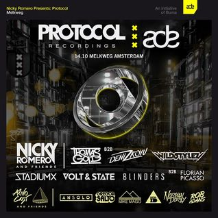 Blinders & Florian Picasso @ Protocol Recordings ADE Event