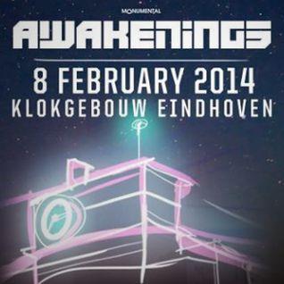 Secret Cinema b2b Egbert @ Awakenings Eindhoven - Klokgebouw 2014 (08-02-2014)