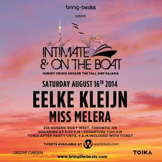 Eelke Kleijn & Miss Melera - Intimate & On The Boat - 16-Aug-2014
