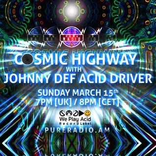 Cosmic Highway_15MAR2015 @ PURE RADIO (Amsterdam)