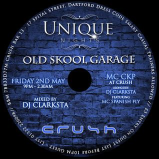 UNIQUE NIGHTS CD MIXED BY DJ CLARKSTA