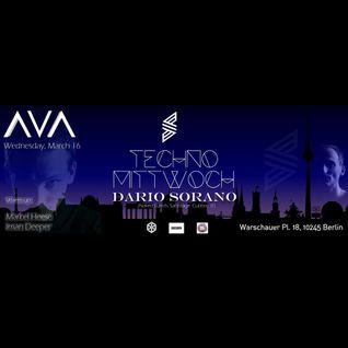 Dario Sorano @ Ava Club - Berlin [16-03-2016]