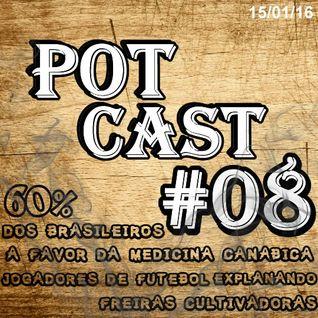 PotCast #08 - Explanando no Futebol, Freiras cultivadoras e 60% dos brasileiros a favor da Maconha M