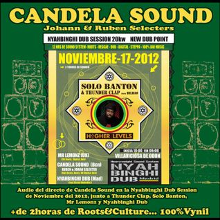 Candela Sound - Live inna Nyahbinghi Dub Session Nov2012