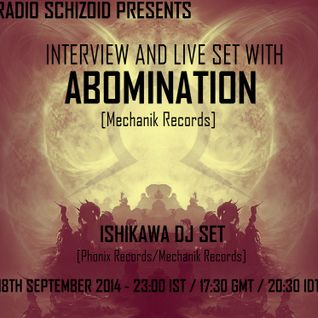 Abomination - Live Set for Radio Schizoid - September 2014