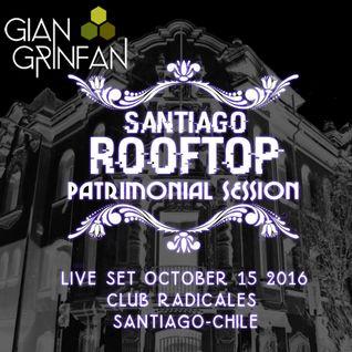 Live Set- Santiago ROOFTOP Patrimonial Session - October 15 2016