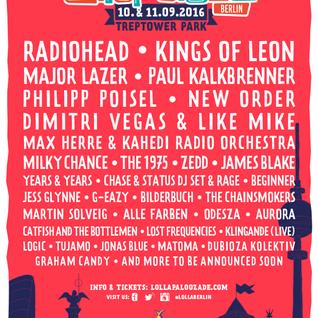 Paul Kalkbrenner @ Lollapalooza Berlin 2016