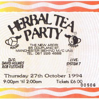 David Holmes at Herbal Tea Party Mnchester 27 October 1994