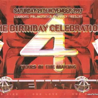 Zinc with MC Fearless & Stevie Hyper D One Nation 'The Birthday Celebrations' 29th November 1997