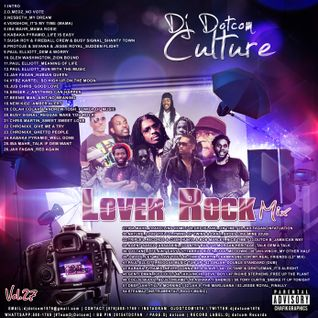 DJ DOTCOM_CULTURAL LOVERS ROCK_MIX_VOL.27 {OCTOBER - 2015}