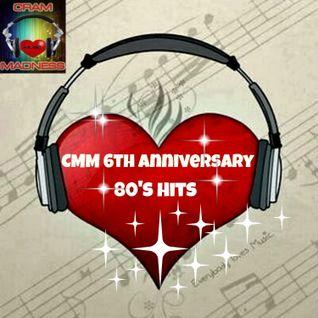 Cram Music Madness 6th Anniversary 80s Hits Collaboration