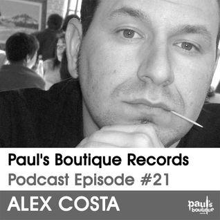 Pau's Boutique Records Podcast #21 Alex Costa
