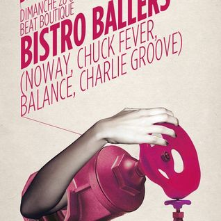 Balance & Noway (Bistro Ballers) 3 octobre 2012 001.. Let's make it upbeat