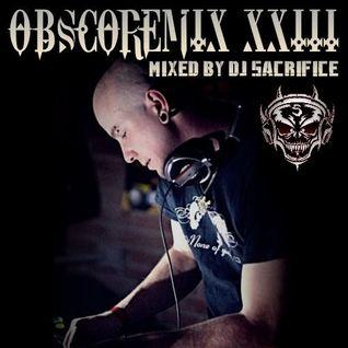 "DJ Sacrifice pres. ""OBSCOREMIX XXIII"" [dutch mainstyle hardcore]"