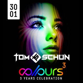 Tom Schön - 3 Years COLOURS @ Tanzhaus West Frankfurt 30-01-2016