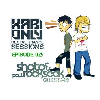 XABI ONLY - GLOBAL TRANCE SESSIONS 025 (INC. SHATO & PAUL ROCKSEEK GUESTMIX) [28-03-2012]