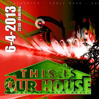 DJ Panic. Early HardCore/Rave classics. Liveset @ This is our HOUSE! Part 1, April 2013.