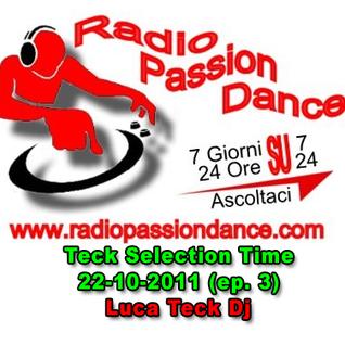 DJ Teck - Teck Selection Time 22-10-2011 (ep. 3)