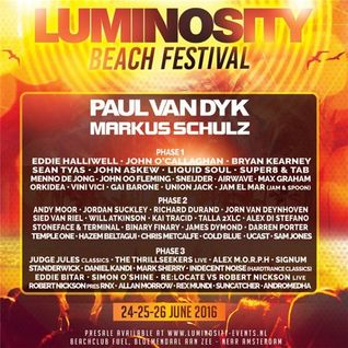 Bryan Kearney - Live @ Luminosity Beach Festival (Netherlands) - 25.06.2016