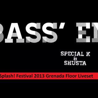 Bass 'Em (Special K & Shusta) - Splash! Festival 2013 Grenada Floor Liveset