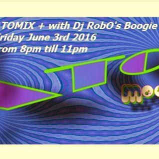 RobO's ATOMIX + June 3rd 2016 Axcit Web Radio Boogie Funk Edition