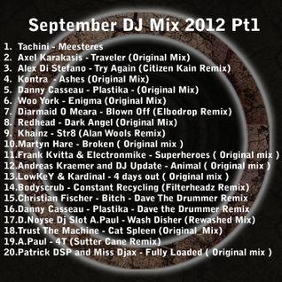 Dave the Drummer Sept DJ mix 2012 pt 1