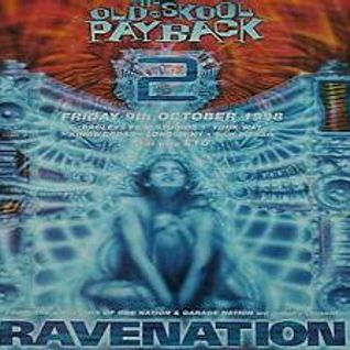 Brockie (Arena 3) RAVENATION 'The Old Skool Payback 2' 9th Oct 1998