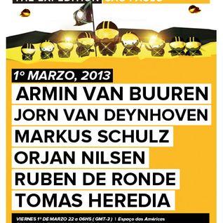 Ruben de Ronde - Live @ A State of Trance 600 Sao Paulo - 01.03.2013