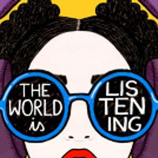 The World is Listening, Mayfest Special - Anna Barrett, Verity Standen, Ellie Showering