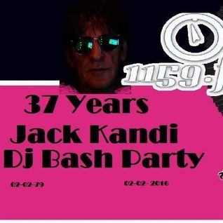 illumin8Special 37 Years Jack Kandi The Dj Bash Party From Amsterdam live Recording 1159.fm radio