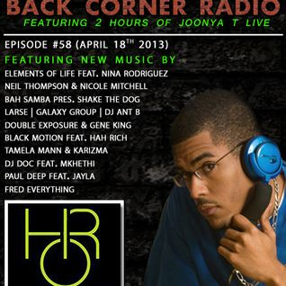 BACK CORNER RADIO: Episode #58 (April 18th 2013)