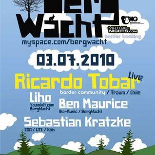 Ricardo Tobar live @ Bergwacht, Cologne, July 2010