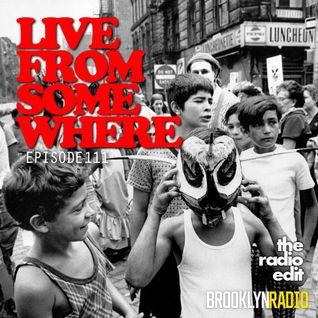 Radio Edit #111 - Live From Somewhere