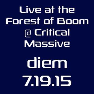 diem - live at critical massive 7-18-15