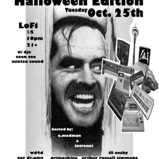 EarDoctor Umz LIVE MPC Halloween Beat Set 10.25.11