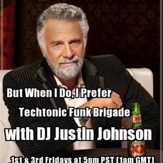 DJ Justin Johnson - Techtonic Funk Brigade - Oct. 26, 2012 - Live on www.nsbradio.co.uk