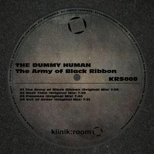 The Dummy Human - The Army of black ribbon - Klinik Room (21-09-2015)