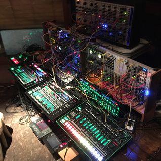 Hataken - Modular synthesizer progressive ambient live set - Antena528@bonobo July 1st 2015